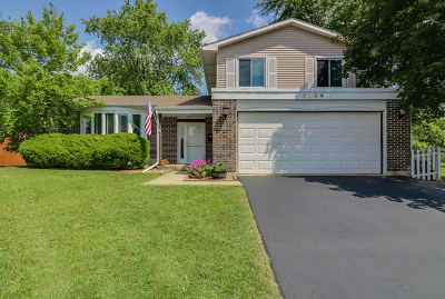Woodridge Single Family Home For Sale: 2834 Leawood Court