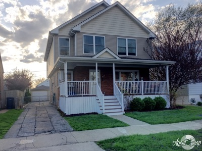 Evergreen Park Single Family Home Contingent: 10242 South Turner Avenue