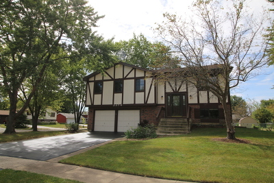 Hanover Park Single Family Home For Sale: 2279 Stepstone Lane