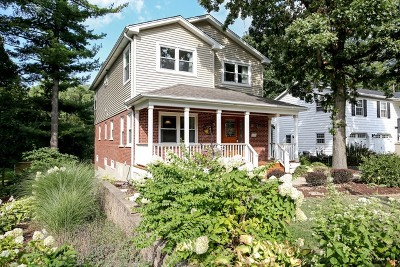 Downers Grove Single Family Home Price Change: 5508 Carpenter Street