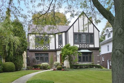 Winnetka Single Family Home For Sale: 403 Sunset Road