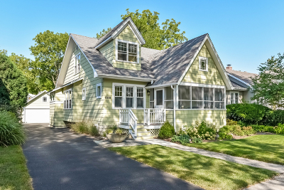 Downers Grove Single Family Home For Sale: 4808 Stanley Avenue