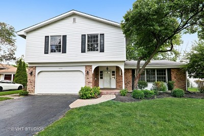 Darien Single Family Home For Sale: 17w544 Earl Court