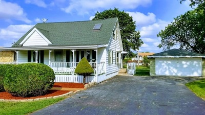 Alsip  Single Family Home For Sale: 11345 South Lawler Avenue