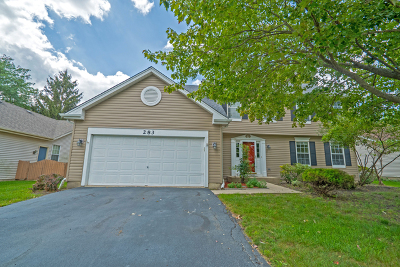 Aurora Single Family Home For Sale: 283 Meadowview Lane