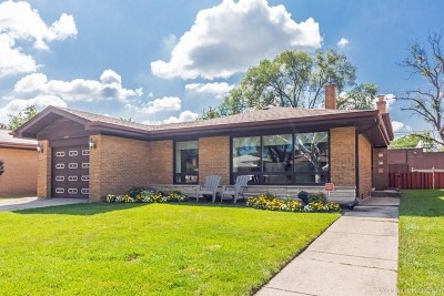 Skokie Single Family Home For Sale: 4145 Enfield Avenue