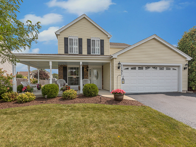 Carol Stream Single Family Home Contingent: 1157 Chalet Drive