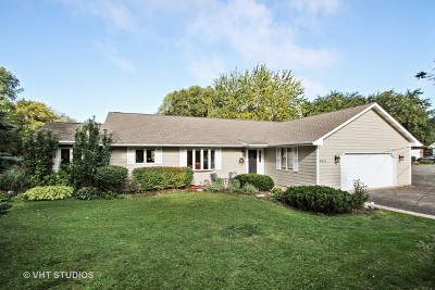 Crystal Lake Single Family Home For Sale: 6401 Sands Road