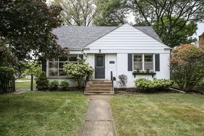 Clarendon Hills Single Family Home Contingent: 132 Indian Drive