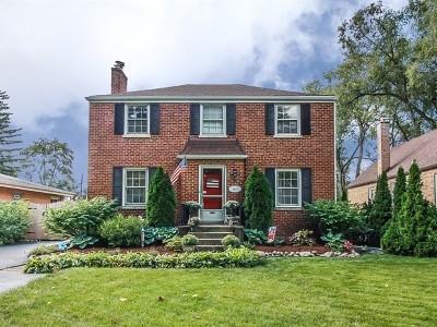 Villa Park Single Family Home Price Change: 113 East Madison Street