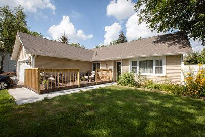 Hanover Park Single Family Home Price Change: 5990 West Andover Drive