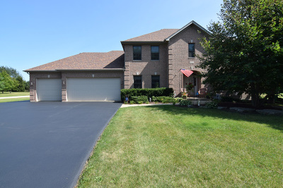Huntley Single Family Home For Sale: 18n415 Carriage Way Lane