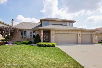 Orland Park Single Family Home For Sale: 13957 Norwich Lane