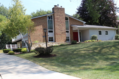 Schaumburg Single Family Home Price Change: 1301 Indian Hill Drive