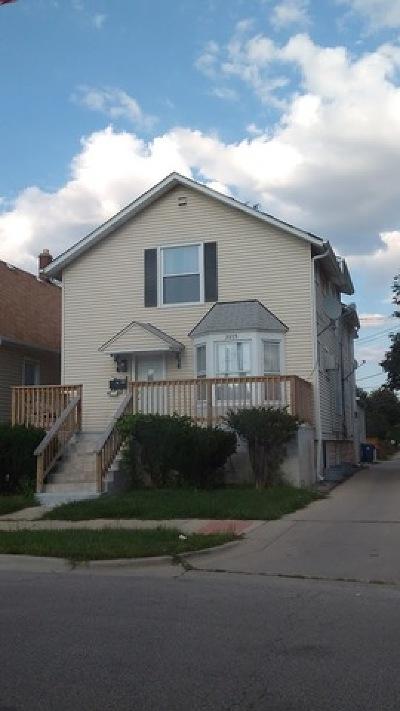 Franklin Park Multi Family Home For Sale: 3015 Rose Street