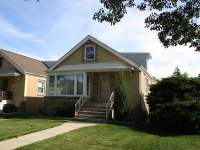 North Riverside Single Family Home For Sale: 8917 West 24th Street