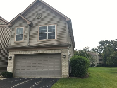 Crystal Lake Condo/Townhouse For Sale: 2707 Cobblestone Drive #END