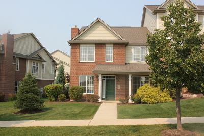 Orland Park Condo/Townhouse For Sale: 10607 Gabrielle Lane