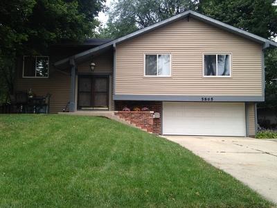 Hanover Park Single Family Home Contingent: 5865 South Bradley Court