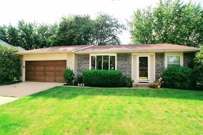 Roselle Single Family Home Contingent: 1050 Borden Drive