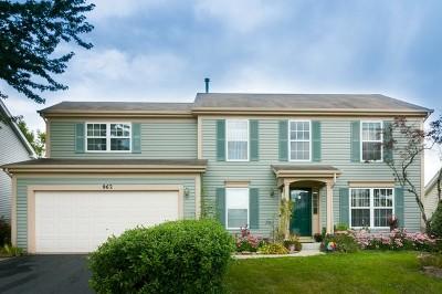 Carpentersville Single Family Home For Sale: 962 Cortney Drive