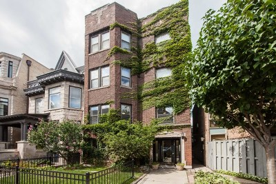 Chicago Condo/Townhouse For Sale: 722 West Oakdale Avenue #1F