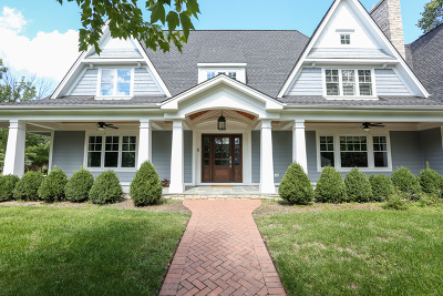 Western Springs Single Family Home For Sale: 4745 Woodland Avenue