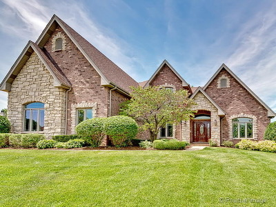 Lemont Single Family Home Price Change: 12430 Briarcliffe Drive