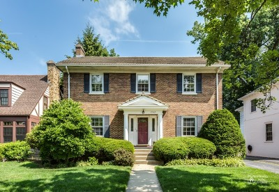 Wilmette Single Family Home For Sale: 1942 Thornwood Avenue