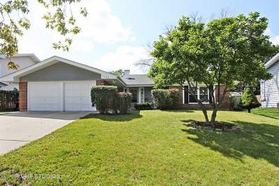Hoffman Estates Single Family Home For Sale: 1425 Nottingham Lane