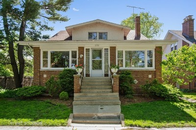 Chicago Single Family Home Contingent: 6731 North Hermitage Avenue