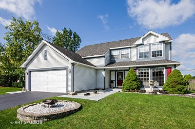 Elgin Single Family Home Contingent: 184 Dickens Trail