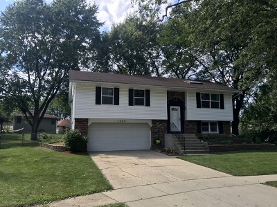 Streamwood Single Family Home Contingent: 1208 Alexander Place