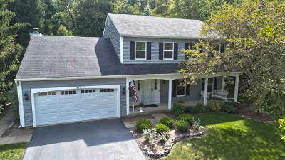 St. Charles Single Family Home For Sale: 411 Timbers Circle