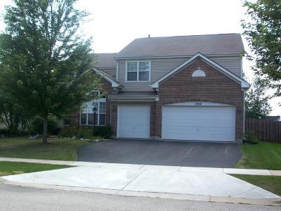 Algonquin Single Family Home Price Change: 2308 Coneflower Lane