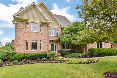 St. Charles Single Family Home Contingent: 6n260 East Ridgewood Drive