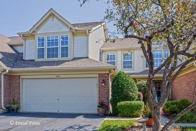 Crystal Lake Condo/Townhouse Contingent: 1689 Pearl Court #1689