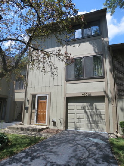 Roselle Condo/Townhouse For Sale: 480 East Woodfield Trail
