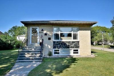 Elmhurst Single Family Home For Sale: 594 North Adele Street