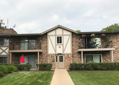 Willowbrook Condo/Townhouse Contingent: 9s070 Lake Drive #201
