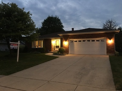 Schaumburg Single Family Home Contingent: 216 Glenridge Lane