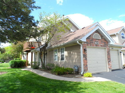 Carol Stream Condo/Townhouse For Sale: 1083 Rockport Drive #1083