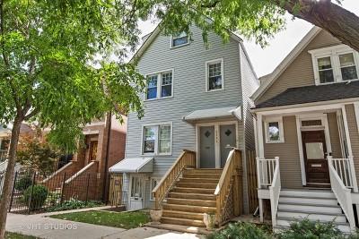 Chicago Multi Family Home Contingent: 2141 West Belle Plaine Avenue
