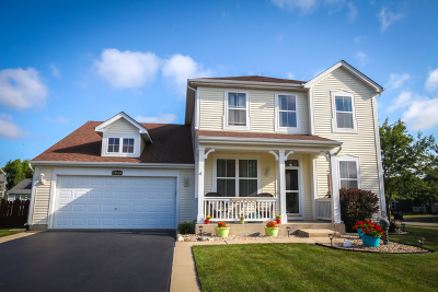 Huntley Single Family Home Contingent: 10534 Lancaster Street