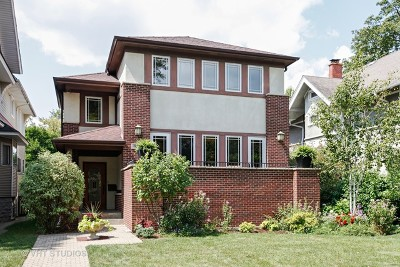 River Forest Single Family Home For Sale: 628 William Street