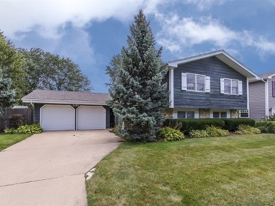 Hoffman Estates Single Family Home Price Change: 1395 North Oakmont Road