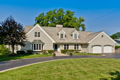 Lake Forest Single Family Home Contingent: 492 Greenvale Road