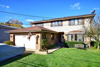 Bensenville Single Family Home Contingent: 210 Jacquelyn Drive