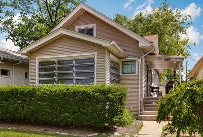 Oak Park Single Family Home For Sale: 742 North Taylor Avenue