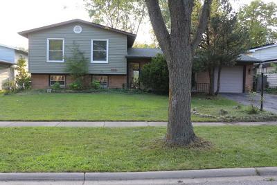Hanover Park Single Family Home For Sale: 7904 Strathmore Lane